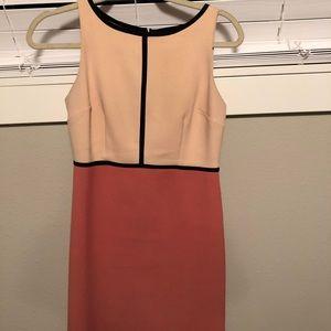 Color block loft dress